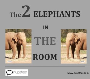 The 2 Elephants in the Room