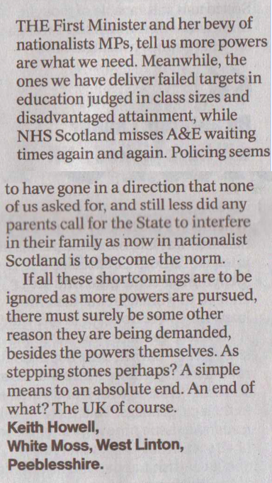 A simple means to an absolute end - The Herald 16th May 2015