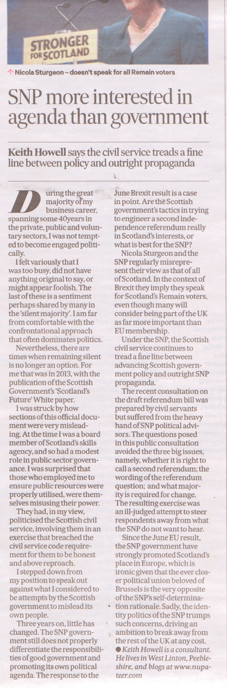 The Scotsman - Tuesday 7th Feb 2017